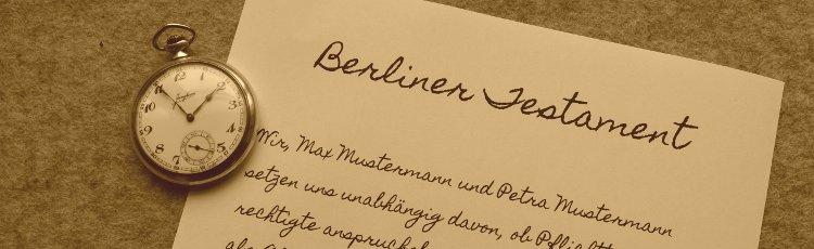 erbrecht teil iv das berliner testament blp bauer partner mbb. Black Bedroom Furniture Sets. Home Design Ideas